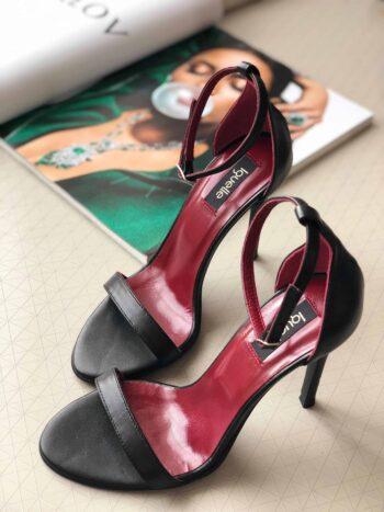 sandale cu toc