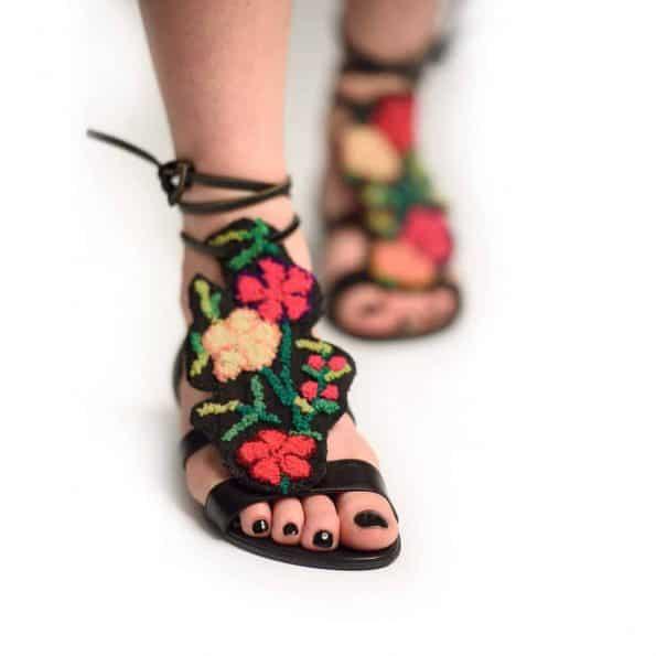 Sandale Flower Batik