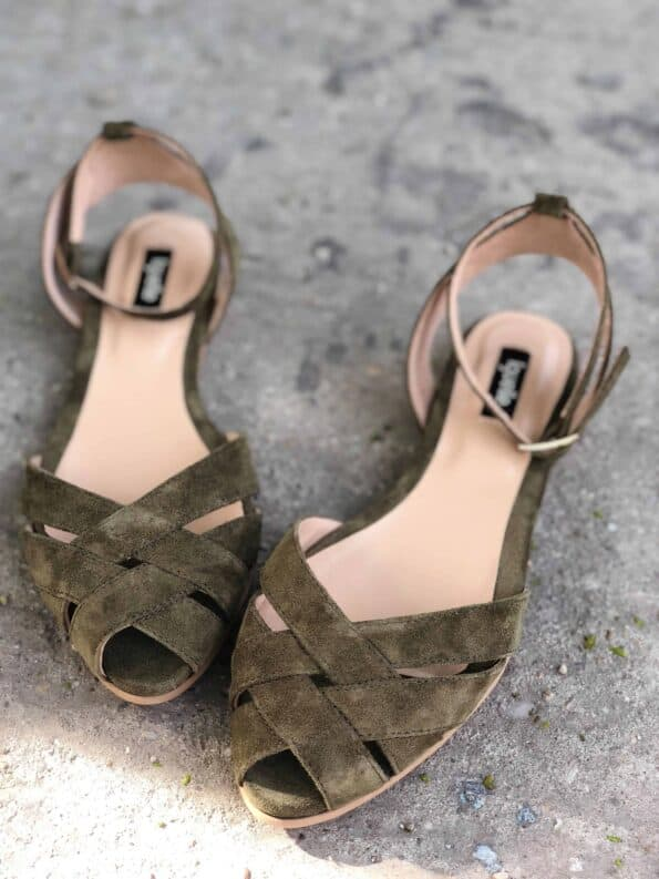 sandale joase piele