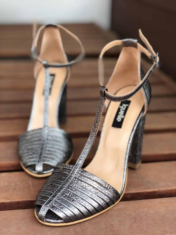 Strings Sandals Metallic Bold